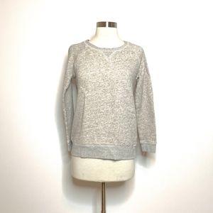 Madewell Gray Sweatshirt Sweater Size XS (B12)